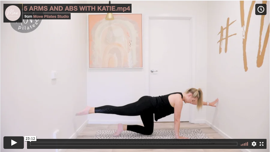 3 Arms & Abs with Katie