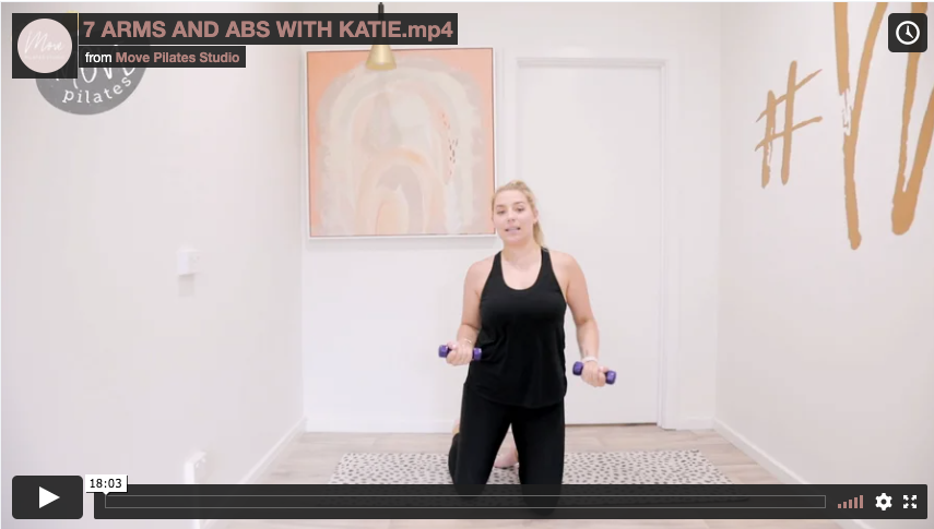7 Arms & Abs with Katie