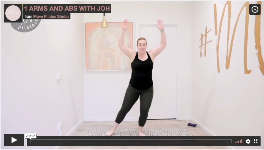 4 Arms & Abs with Joh